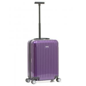 Rimowa Trolley cabina rigida per Compagnie low cost Salsa Air 820 52.22.4 Ultra Violet Realizzata in policarbonato 100%. Mono traino telescopico. Chiusura TSA. Doppio scomparto chiuso da cerniera lampo.