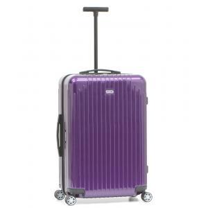 Rimowa Trolley rigidi Salsa Air 820 63.22.4 Ultra Violet Realizzata in policarbonato 100%. Mono traino telescopico. Chiusura TSA. Doppio scomparto chiuso da cerniera lampo.