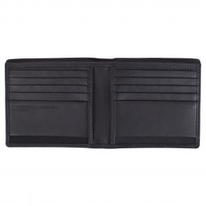 Porsche Design Portafogli Uomo CL2 409 225 Black Realizzato in pelle Tasche porta documenti 10 carte di credito Scomparto banconote doppie