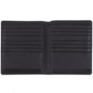 Porsche Design Portafogli Uomo CL2 409 223 Black Realizzato in pelle Tasche porta documenti 16 carte di credito Ribaltina interna Scomparto banconote doppie