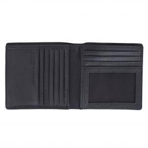 Porsche Design Portafogli Uomo Cervo 409 449 Black Realizzato in pelle Tasche porta documenti 10 carte di credito Scomparto banconote doppie