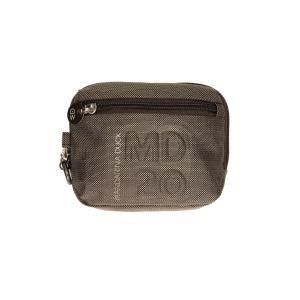 Mandarina Duck Trousse da borsa MD20 16 MM4 Pirite Realizzato in tessuto Tasca anteriore Passante posteriore per portata a cintura