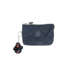 Kipling Portafogli Donna Basic Creativity S 1864 True Blu 511 Realizzato in tessuto Chiusura con lampo 3 scomparti Tasca porta monete chiusa con lampo