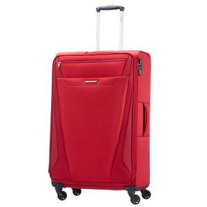 Samsonite Trolley semirigidi All Direction 25V 004 Red Realizzato in poliestere 300 x 900 denari Tasca esterna Chusura a combinazione TSA 4 Ruote Espandibile Scoparto a rete interno