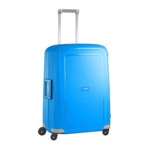 Samsonite Trolley rigidi SCure 10U 001 Pacific Blue Realizzata in polipropilene Fermabiti interni Chiusura a combinazione TSA 4 Ruote gemellate