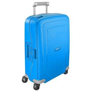 Samsonite Trolley rigidi SCure 10U 003 Pacific Blue Realizzata in polipropilene Fermabiti interni Chiusura a combinazione TSA 4 Ruote gemellate