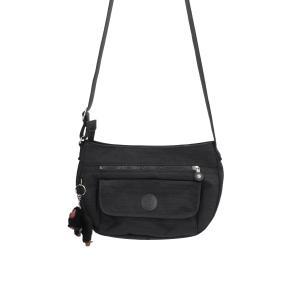 Kipling Borse Basic Syro 13163 Dazz Black Realizzato in tessuto Chiusa con cerniera lampo Tracolla regolabile 2 tasche esterne 3 tasche interne una chiusa con lampo