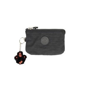 Kipling Portafogli Donna Basic Creativity S 1864 Dazz Black Realizzato in tessuto Chiusura con lampo 3 scomparti Tasca porta monete chiusa con lampo