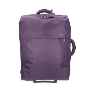 Lipault Trolley semirigidi Pliable P50 102 Purple Realizzata in nylon Tasca anteriore