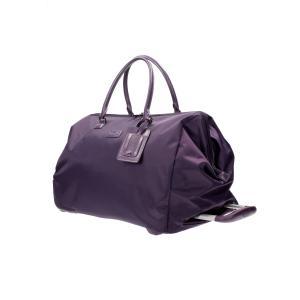 Lipault Borsoni con ruote Lady Plume P51 104 Purple Realizzata in nylon Tasca interna