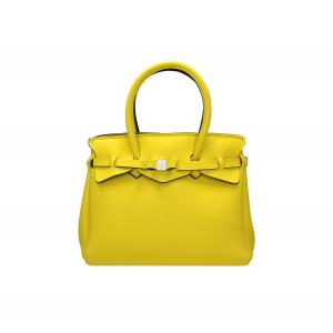 Save My Bag Borse Miss 102 04N Amarillis Realizzata in Poly-Fabric con Lycra Chiusa con automatico Doppio manico