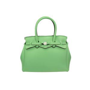 Save My Bag Borse Miss 102 04N Assenzio Realizzata in Poly-Fabric con Lycra Chiusa con automatico Doppio manico