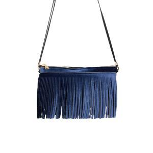 Save My Bag Borse Hippy Clutch 21 53N Blu Scuro Realizzata in poliestere Chiusura con lampo