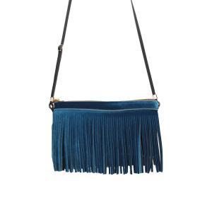 Save My Bag Borse Hippy Clutch 21 53N Broccato Realizzata in poliestere Chiusura con lampo