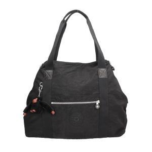 Kipling Borse Basic Art M 1362 Black Realizzata in tessuto Chiusa con cerniera lampo Doppio manico per portate a spalla Tasca anteriore chiusa con zip Possibilit� di allargarla o restringerla