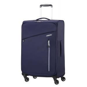 American Tourister Trolley rigidi Litewing 38G 004 Insigna blue Realizzata in 100% poliestere Chiusura a chiave con funzione TSA Tasca anteriore Divisorio interno