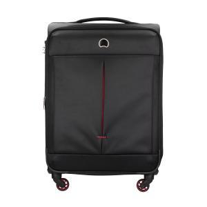 Delsey Trolley semirigidi AIR ADVENTURE 3606 821 Nero Realizzato in poliestere Chiusura a combinazione TSA Tascha anteriore Tasca interna 4 ruote multidirezionali