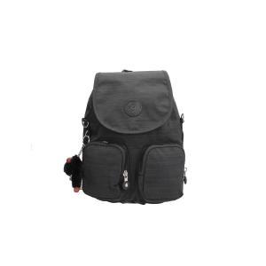 Kipling Zaino Basic Firefly  N 23512 Dazz Black Realizzato in tessuto Chiuso con cerniera e patta Manico di sollevamento Doppia tasca estera Doppio spallaccio  Tracolla opzionale per portate a spalla