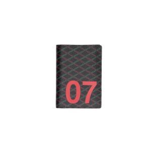 Pourchet Portafogli Uomo MA 34 007 Marine Realizzato in ecopelle 3 carte credito Patta interna Porta monete chiuso con zip