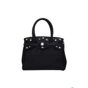 Save My Bag Borse Black Label Miss 102 15N Monaco Realizzata in Poly-Fabric con Lycra Chiusa con lampo Doppio manico