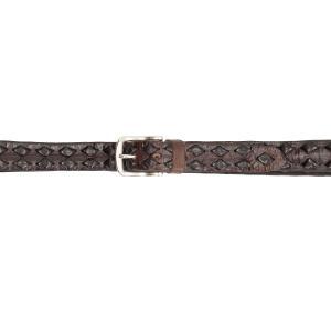 Italian Belts Cinture Uomo Pelle 50 530 Testa di moro