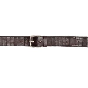 Italian Belts Cinture Uomo Pelle 507 35 Testa di moro