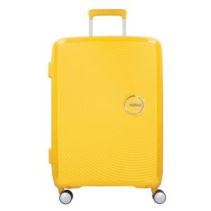 American Tourister Trolley rigidi Sound Box 32G 002 Golden Yellow Realizzata in 100% polipropilene