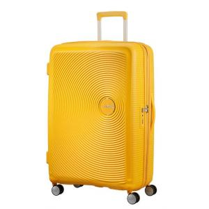 American Tourister Trolley rigidi Sound Box 32G 003 Golden Yellow Realizzata in 100% polipropilene
