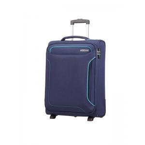 American Tourister Trolley cabina morbido per Compagnie low cost Holiday Heat 50G 002 Blue Realizzata in 100% poliestere Chiusura a chiave con funzione TSA Tasca anteriore Divisorio interno