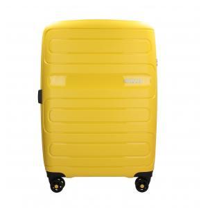 American Tourister Trolley rigidi Sun Side 51G 003 Giallo Realizzata in poliestere Doppia tasca anteriore  Tasca interiore Espandibile Chiusura a combinazione TSA