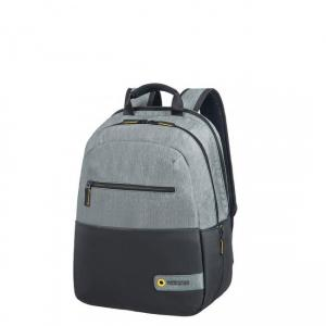 American Tourister Zaino City Drift 28G 001 Black/Gray Realizzato in poliestere 2 Spallacci ergonomici Tasca anteriore Porta PC interno 15.6