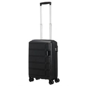 American Tourister Trolley cabina rigida per Compagnie low cost Summer Splash 62G 905 Black Realizzata in 100% polipropilene