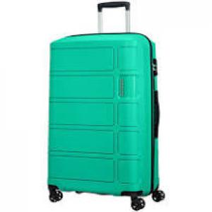 American Tourister Trolley cabina rigida per Compagnie low cost Summer Splash 62G 905 Jade Green Realizzata in 100% polipropilene