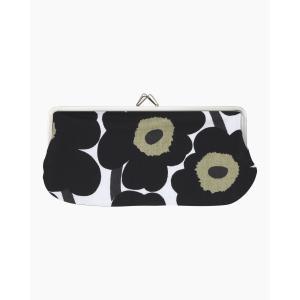 Marimekko Portamonete  Mini Unikko eyeglass pouch 027003 030 Portamonete in cotone, interno in twill e con chiusura a moschettone in metallo.