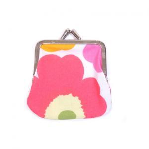 Marimekko Portamonete  Mini Unikko mini purse 34773 201 Portamonete in 100% cotone