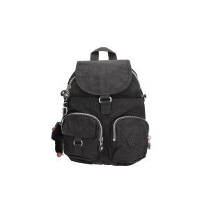 Kipling Zaino Basic Firefly  N 13108 Black 900 Realizzato in tessuto Chiuso con cerniera e patta Manico di sollevamento Doppia tasca estera Doppio spallaccio  Tracolla opzionale per portate a spalla